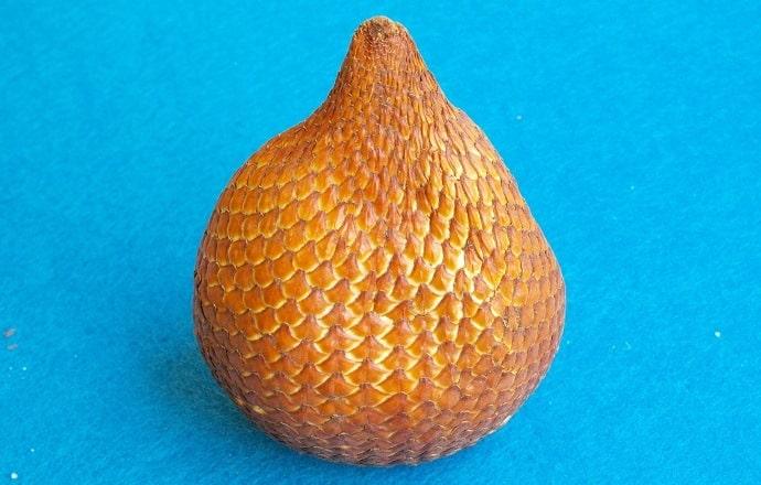 Exotic fruits: snake fruit